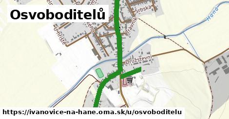 ilustrácia k Osvoboditelů, Ivanovice na Hané - 0,98km