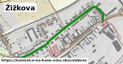 ilustrácia k Žižkova, Ivanovice na Hané - 691m