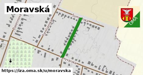 ilustrácia k Moravská, Iža - 0,71km