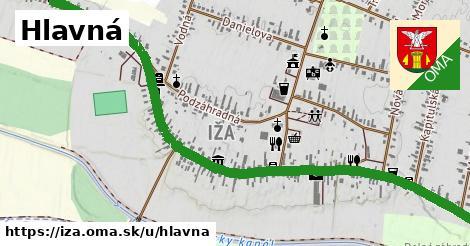 ilustrácia k Hlavná ulica, Iža - 1,79km