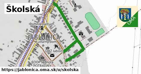 ilustračný obrázok k Školská, Jablonica