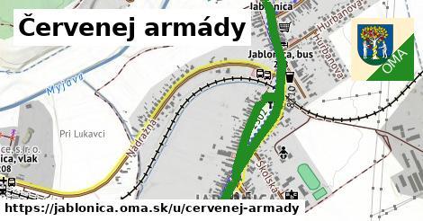 ilustrácia k Červenej armády, Jablonica - 2,6km