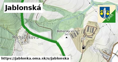 ilustrácia k Jablonská, Jablonka - 3,9km