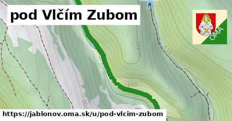 ilustrácia k pod Vlčím Zubom, Jablonov - 1,82km