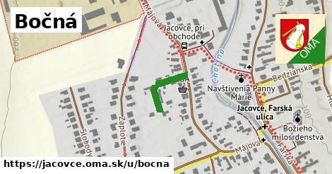 ilustrácia k Bočná, Jacovce - 140m