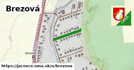 ilustrácia k Brezová, Jacovce - 168m