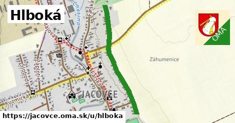 ilustrácia k Hlboká, Jacovce - 0,74km