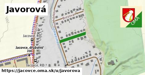 ilustrácia k Javorová, Jacovce - 140m