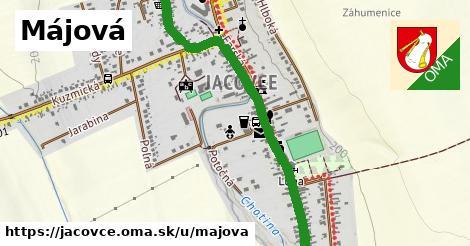 ilustrácia k Májová, Jacovce - 2,6km