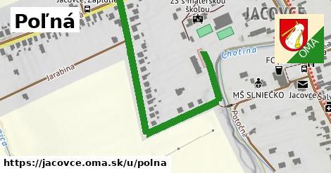 ilustrácia k Poľná, Jacovce - 595m