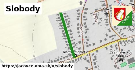 ilustrácia k Ulica slobody, Jacovce - 257m