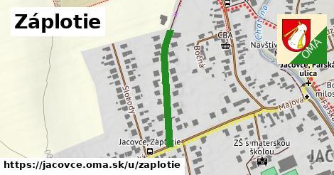 ilustrácia k Záplotie, Jacovce - 258m