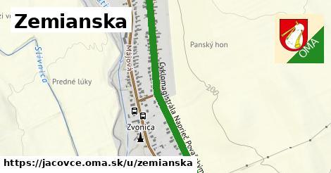 ilustrácia k Zemianska, Jacovce - 1,00km