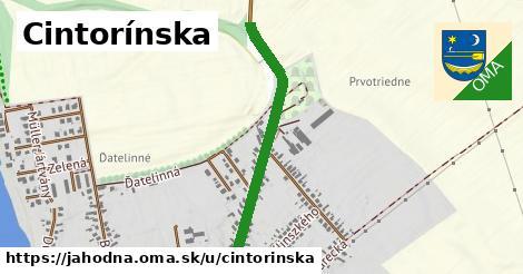 ilustrácia k Cintorínska, Jahodná - 0,72km