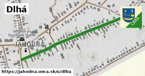 ilustrácia k Dlhá, Jahodná - 579m