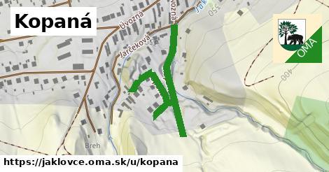 ilustrácia k Kopaná, Jaklovce - 461m