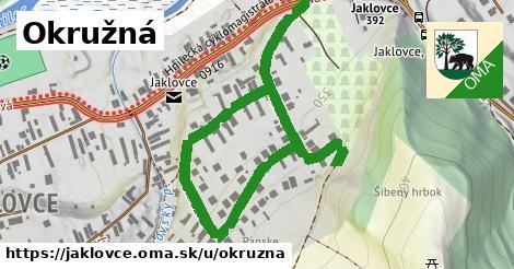 ilustrácia k Okružná, Jaklovce - 1,26km
