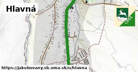ilustrácia k Hlavná, Jakubovany, okres SB - 1,08km