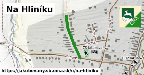 ilustrácia k Na Hliníku, Jakubovany, okres SB - 233m