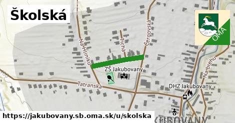 ilustrácia k Školská, Jakubovany, okres SB - 166m