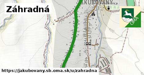 ilustračný obrázok k Záhradná, Jakubovany, okres SB