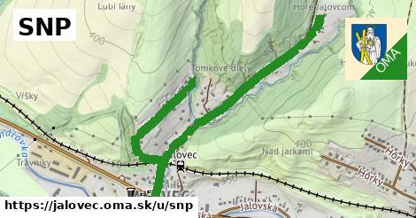 ilustrácia k SNP, Jalovec - 1,36km