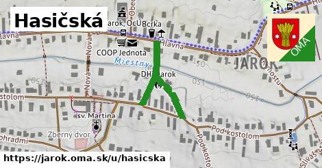 ilustrácia k Hasičská, Jarok - 289m