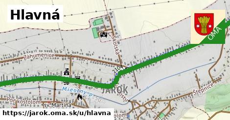 ilustrácia k Hlavná, Jarok - 4,5km