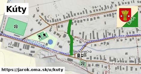 ilustrácia k Kúty, Jarok - 193m