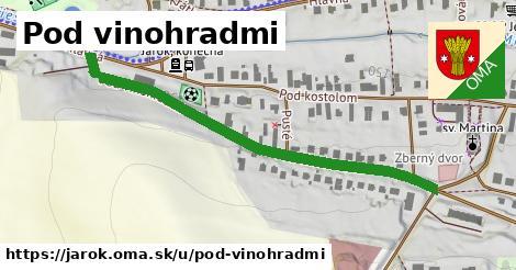 ilustrácia k Pod vinohradmi, Jarok - 538m