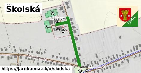ilustračný obrázok k Školská, Jarok