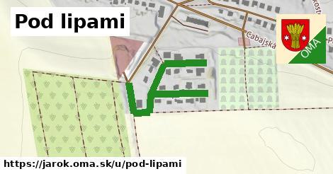 ilustrácia k Pod lipami, Jarok - 442m