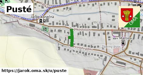 ilustrácia k Pusté, Jarok - 118m