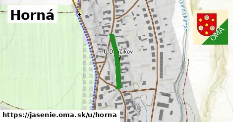 ilustrácia k Horná, Jasenie - 188m