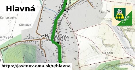ilustrácia k Hlavná, Jasenov - 2,2km