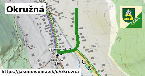 ilustrácia k Okružná, Jasenov - 302m