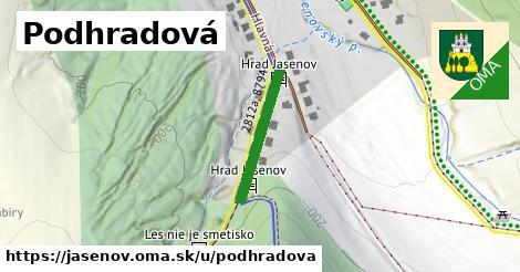 ilustrácia k Podhradová, Jasenov - 202m