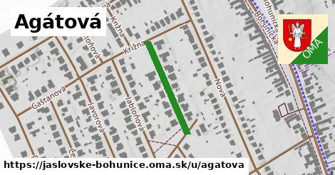 ilustrácia k Agátová, Jaslovské Bohunice - 220m