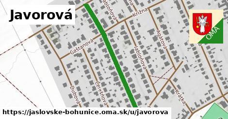 ilustrácia k Javorová, Jaslovské Bohunice - 409m