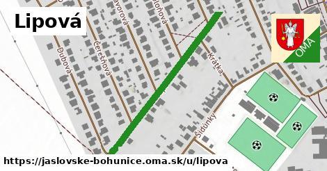 ilustrácia k Lipová, Jaslovské Bohunice - 413m