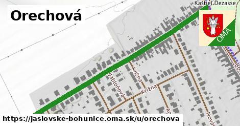 ilustrácia k Orechová, Jaslovské Bohunice - 587m