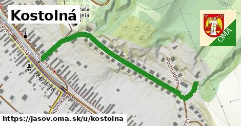 ilustrácia k Kostolná, Jasov - 0,72km