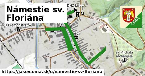ilustrácia k Námestie sv. Floriána, Jasov - 0,80km