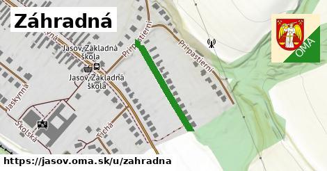 ilustračný obrázok k Záhradná, Jasov