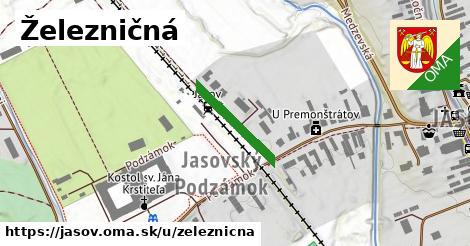 ilustrácia k Železničná, Jasov - 171m