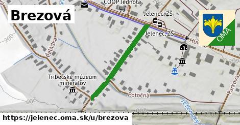 ilustrácia k Brezová, Jelenec - 297m