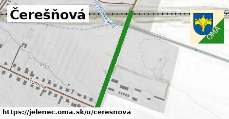 ilustrácia k Čerešňová, Jelenec - 341m