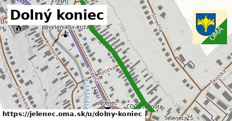 ilustrácia k Dolný koniec, Jelenec - 527m