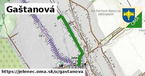 ilustračný obrázok k Gaštanová, Jelenec