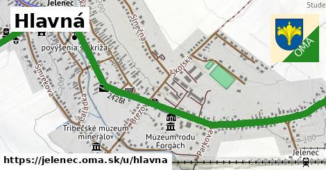 ilustrácia k Hlavná, Jelenec - 2,4km